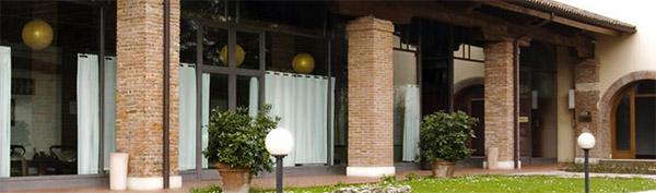 Ingresso del Centro Pilates Ama Te a Vicenza
